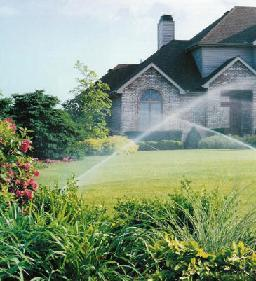 sprinkler repairs landscape design